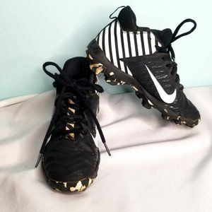 NIKE FAST FLEX black and white sports clets